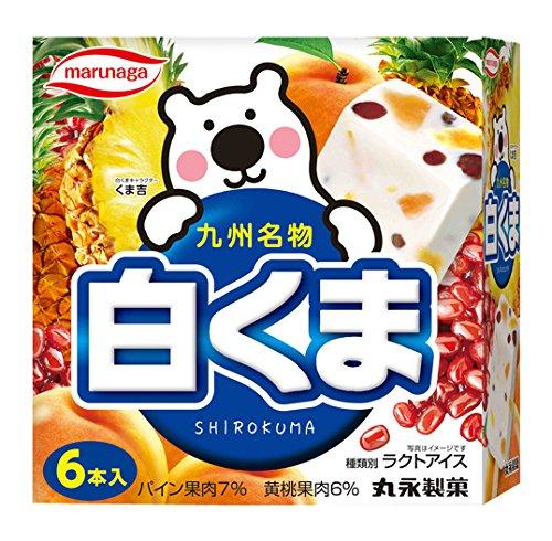 丸永製菓 白くま 60ml×6本[冷凍]
