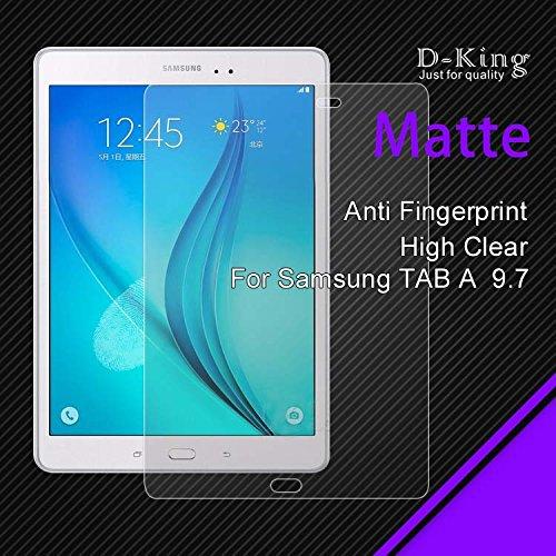 2x Display Schutzfolie Matt (3-lagig) für Samsung Galaxy Tab A 9.7 Zoll T550 T550N T555