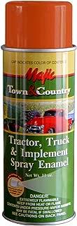 Majic Paints 8-20958-8 Tractor & Implement Spray Enamel Paint, Aerosol, Case Orange