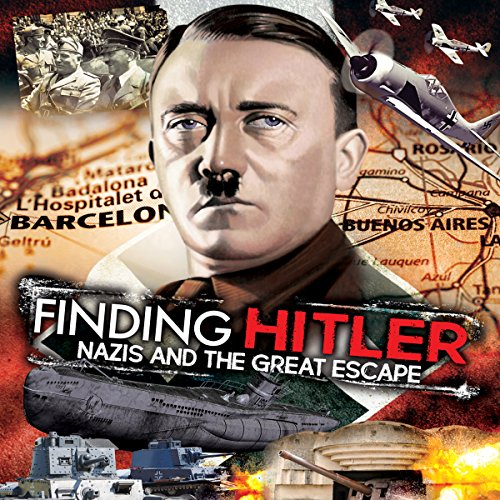 Finding Hitler audiobook cover art