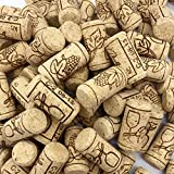 """XIANMU 150 Pack #8 Natural Wine Cork Straight Corks Crafts Corks Wine Stoppers for Bottled Wine Crafting Decor 7/8""""×1-3/4"""""""