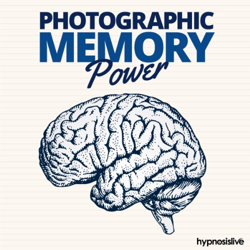 Photographic Memory Power Hypnosis cover art
