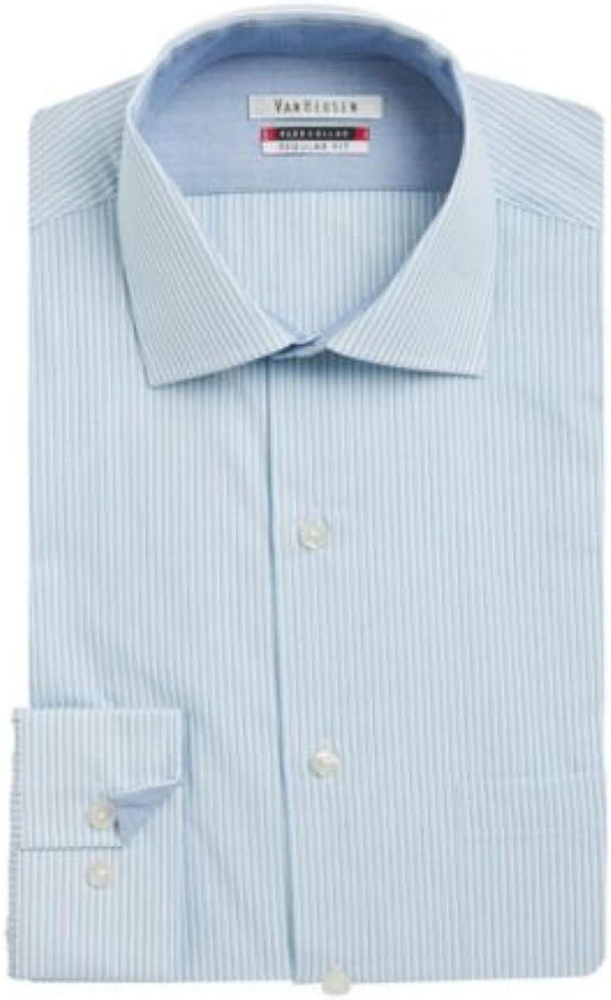 Van Heusen Men's Flex Collar Classic-Fit Plaid Dress Shirt (16