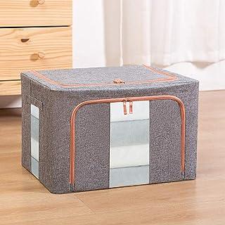 B/H Boîte de Rangement en Plastique distribuée,Boîte de Rangement pour vêtements en Coton et Lin Boîte de Rangement Pliant...