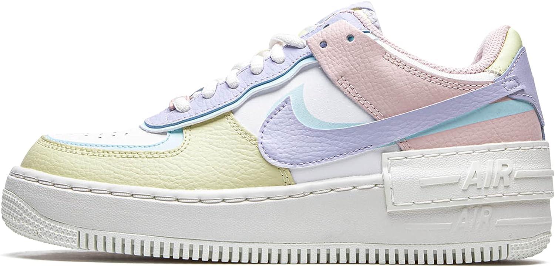 Nike Womens WMNS Air Force 1 Shadow Pastel ... - Amazon.com