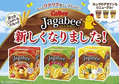 『カルビー じゃがビー Jagabee しあわせバター 80g×12箱』の1枚目の画像