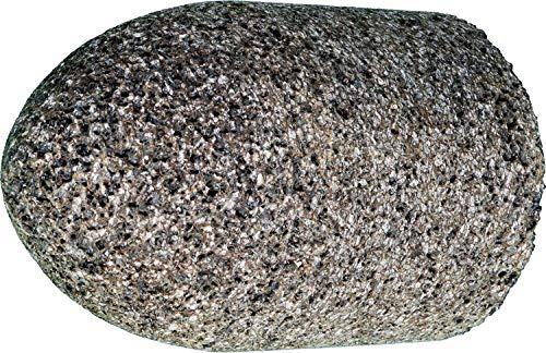 """PFERD 61829 Type 16 Round Nose Cone, Aluminum Oxide, 2"""" Diameter x 3"""" Length, 5/8-11 Thread, 18144 RPM, 16 Grit"""