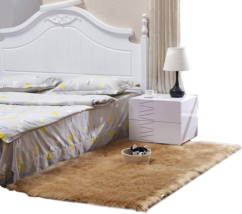punto de venta en línea BSNOWF- Alfombras Alfombra mullida Suave Suave Suave del Dormitorio, Alfombra del Cuarto de bao de la Alfombra del área de la Sala de Estar Lujosa, Color del Camello (Tamao   70×150 cm)  alta calidad general