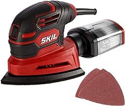 SKIL Corded Detail Sander, Includes 3pcs Sanding Paper and Dust Box – SR250801