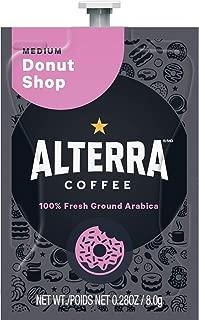 ALTERRA Coffee Donut Shop Blend Single Serve Freshpacks for MARS DRINKS FLAVIA Brewer, 20 Packets