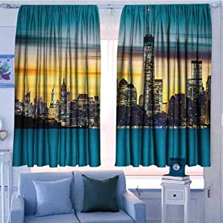 wonderr Rod Pocket Curtains 52