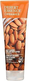 Desert Essence Organics Almond Hand and Body Lotion, 8 Ounce - 6 per case.