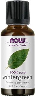 NOW Essential Oils, Wintergreen Oil, Stimulating Aromatherapy Scent, Steam Distilled, 100% Pure, Vegan, Child Resistant Ca...