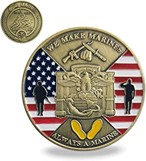 US MCRD San Diego Challenge Coin Marine Corps Recruit Depot Military Collection