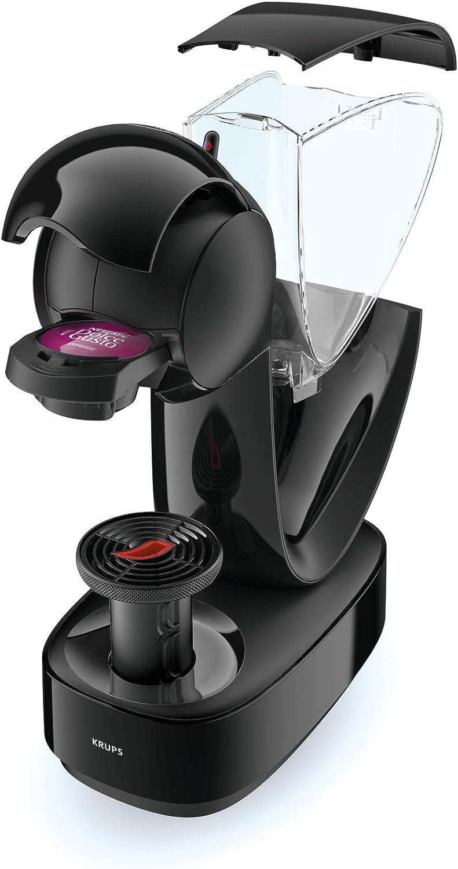 Krups YY3877FD Machine à Café Manuelle Nescafé Dolce Gusto Infinissima Capsules Multi Boissons Espresso Cappuccino Chocolat Thé 15 Bars Rouge Noir