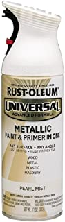 Rust-Oleum 261411 Universal All Surface Spray Paint, 11 oz, Metallic Pearl Mist