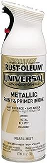 Rust-Oleum 261411 Universal All Surface Spray Paint, 11 oz, Metallic Pearl Mist