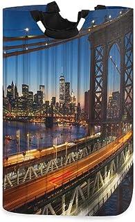 New York City Grand bac de rangement pour la maison, sacs de rangement, panier à vêtements, panier à linge pliable Grand s...