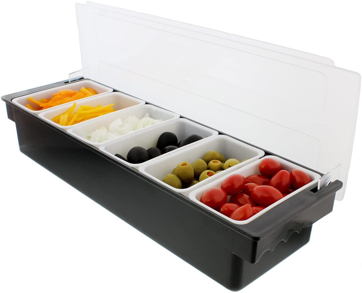 Ice Cooled Condiment Serving Container Garnish Tray Bar Ranking TOP19 Chilled quality assurance