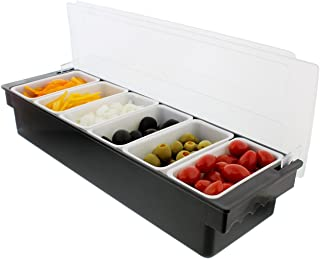 Best glass garnish trays Reviews