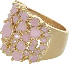 Venus Accessories Women's Gold Plated Ring - 6 US