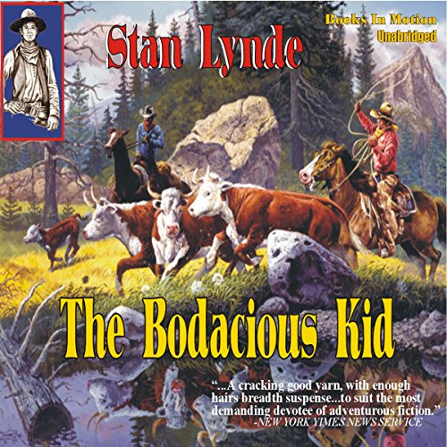 The Bodacious Kid audiobook cover art
