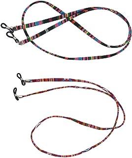 Baoblaze 10 Pcs Filo Occhiali Accessorio Leggero In Cotone Corda Per Uso Quotidiano