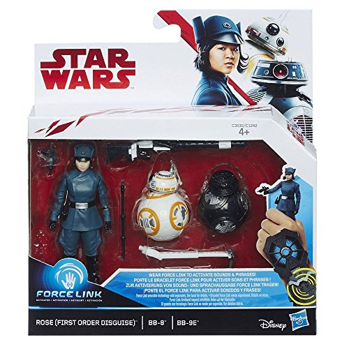 Hasbro Star Wars - Force Link - Set de Figuras - Rose, BB-8, B8-9E