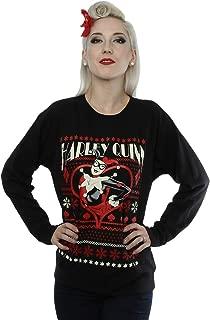 Mujer Batman Harley Quinn Christmas Camisa de Entrenamiento