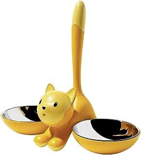 Alessi Tigrito Cat Bowl, Yellow