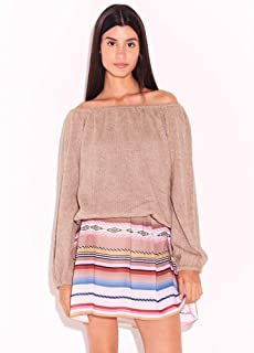 Blusa Ombro Bege