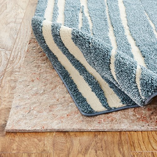 Mohawk Home Supreme Felt Non Slip Rug Pad, 8'x10', 1/2 Inch Thick, Safe for All Floors