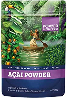Power Superfoods Organic Acai Powder, 100g