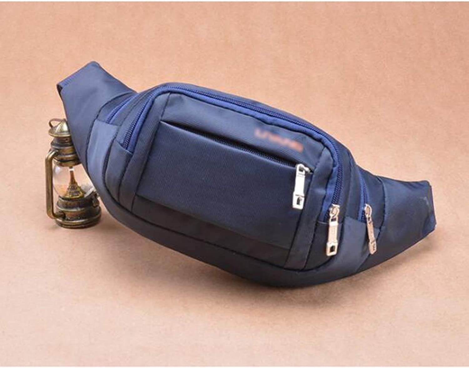 Sturdy West Handbag West Pouch Body Handbag 3WAY Motion Pocket Unisex Dual Lightweight. Large Capacity (color   blueee)