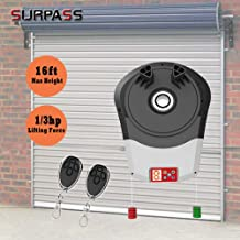 Steel Rolling Door Opener from Surpass, About 50 Decibel Quiet Rolling Door Opener with 1/3HP and DC Power Garage Door Opener