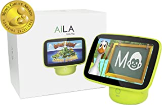 ANIMAL ISLAND Aila Sit & Play Virtual Early Preschool Learning System��for Toddlers (12+ Months) Mom's Choice Gold Award��Letters, Numbers, Stories and Songs Best Baby Gift for Childhood Education