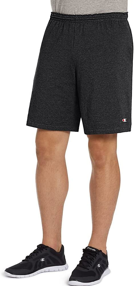 """Champion Cotton Jersey 9/"""" Shorts with Pockets 8180"""