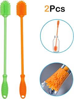Ponnex silicone bottle brushes for cleaning - 12.5