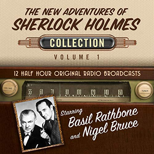 The New Adventures of Sherlock Holmes, Collection 1 audiobook cover art