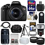 Canon Rebel T6i 16 Product Bundle