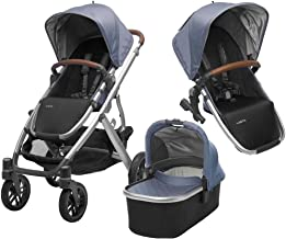 UPPAbaby Full-Size Vista Infant Baby Stroller & RumbleSeat Bundle, Henry
