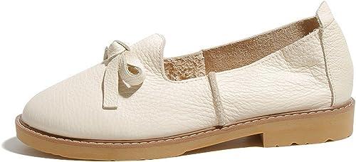 HBDLH-Damenschuhe Flache Sohle Schuhe Fliegen Erbsen Puffbohnen Schuhe Frauen - Freizeit - College - Brise Fu - Schuhe.
