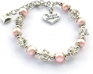 Gift for Granddaughter Bracelet Jewelry with Rhinestone...