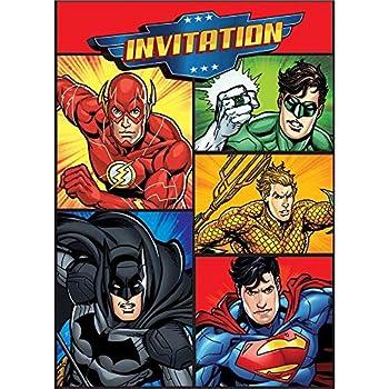 Best justice league invitations Reviews