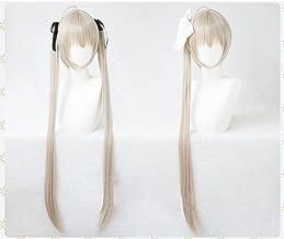 耐熱コスプレウィッグ  春日野 穹 ヨスガノソラ 縁の空 黒髪飾りセット付 コスチュム cos wig+おまけ