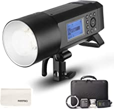 Godox AD400Pro All-in-One Outdoor Flash Strobe, 400W 2.4G TTL Portable Speedlite with Battery and AC/DC Powered with Bowens Mount and Godox Mount