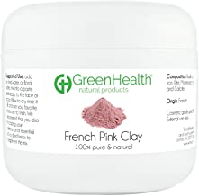 French Pink Clay Powder, 3 oz - 100% Pure & Natural by GreenHealth