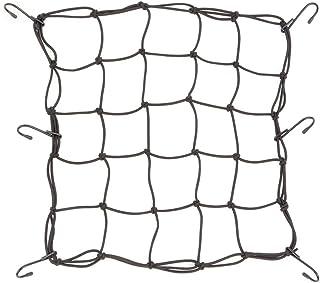 Balight einziehbares elastisches Seil für Motorradhelm, Gepäck, Outdoor Zubehör, 2 Haken, 60 cm