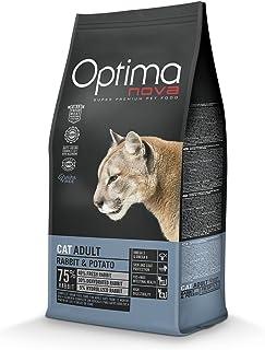 adb4b99ade0c optimanova gato conejo y patatas sin cereales 2 kg Pienso para gatos adultos