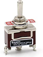 Baomain Toggle switch SPDT Momentary ON/OFF/ON 3 position 250VAC 15A 125VAC 20A 1/2